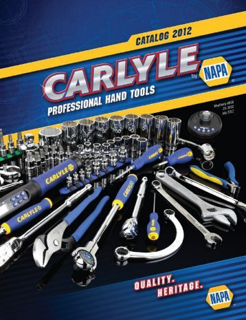 Weatherly #800 20-3002 July 2012 - Carlyle Tools