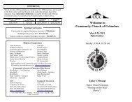 BAPTISM INFORMATION