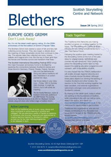 Blethers 24 – Spring 2012 - The Scottish Storytelling Centre