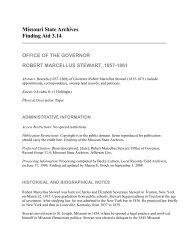 RG3.14 Robert Marcellus Stewart,1857-1861 - Secretary of State