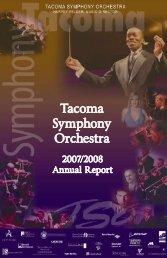 T acom Symphony Orchestra - Tacoma Symphony Orchestra