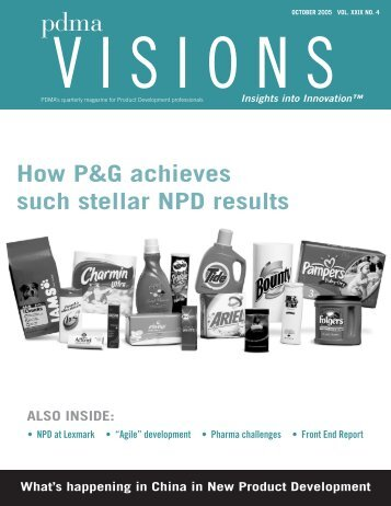 How P&G achieves such stellar NPD results