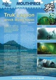 Truk Lagoon - Bracknell Sub Aqua Club
