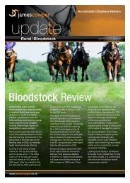 Bloodstock Review - James Cowper CMS