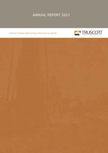 Truscott Mining Corp - Australia