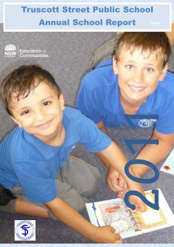 Annual School Report 2011 - Truscott Street Public School