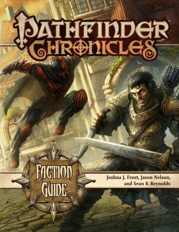 Pathfinder Chronicles - Faction Guide (oef).pdf - WORLDWAKE