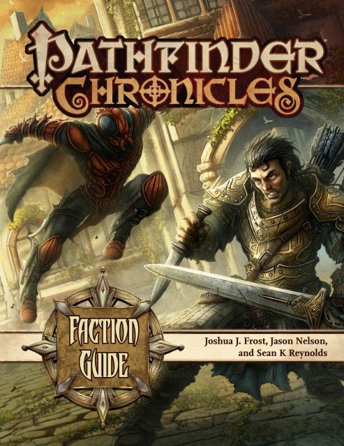 Pathfinder Chronicles - Faction Guide (oef) pdf - WORLDWAKE