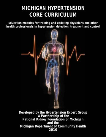 michigan hypertension core curriculum - State of Michigan