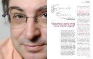 """""""Boluntario izatea ez da musu truk lan egitea"""" - Revista Consumer"""