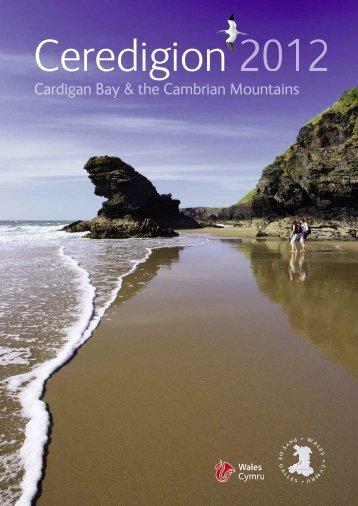 Ceredigion Coast Path - Brochures - Visit Wales
