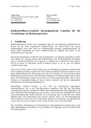 Kohlenstofffaserverstärkte thermoplastische ... - Ulaga Partner AG