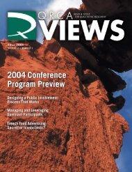 2004 Conference Program Preview 2004 Conference Program ...