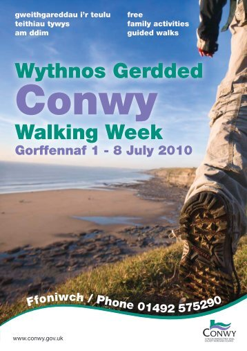 Walking Week Booklet - Dolwyddelan.org