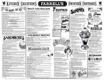 Fountain Fountain - Farrell's Ice Cream Parlour Restaurants