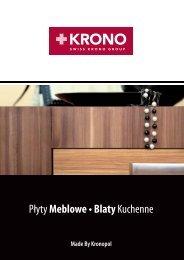 Płyty meblowe, Blaty kuchenne 2012 Katalog (32 strony) - Kronopol
