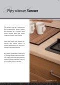 Płyty meblowe, Blaty kuchenne 2012 Katalog (32 strony) - Kronopol - Page 4