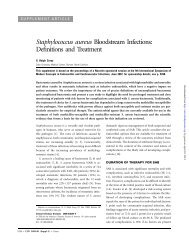 Staphylococcus aureus Bloodstream Infections: Definitions - Clinical ...
