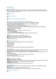 Obecná patologie Atrofie - její typy a příčiny Def: difuzna/loziskova ...