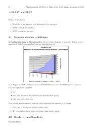 BLAST, BLAT and FASTA - Algorithms in Bioinformatics