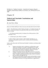 Political and Charitable Contributions and Sponsorships By Jean ...