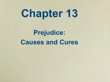 the causes of prejudice