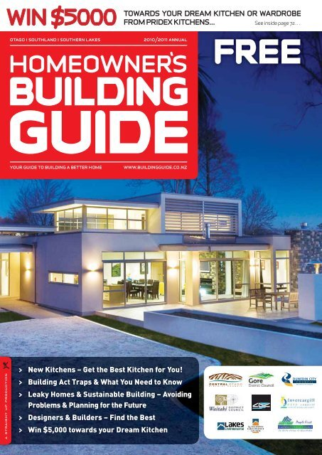 Nz Homeowner S Building Guide 2010 2011 Invercargill City Council