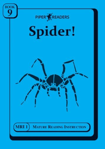 MRI Set 1 Book 9 inspection copy. - Piper Books BRI