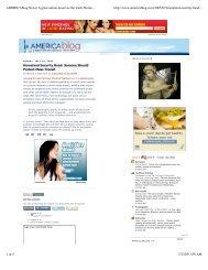 AMERICAblog News  A great nation deserves the ... - Michael Giltz