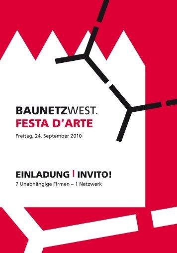 FESTA D'ARTE - UNIC Baschung