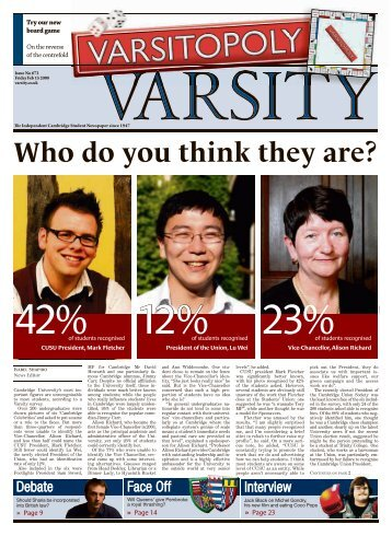 Who do you think they are? - Varsity