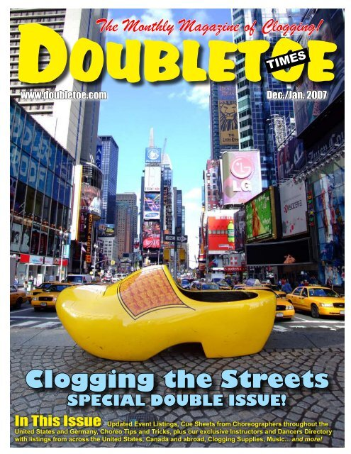 The Monthly Magazine Of Clogging! - Double Toe Times