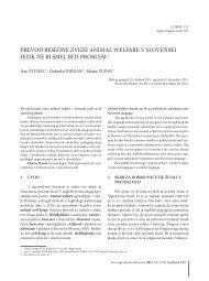 Prevod - Acta agriculturae Slovenica