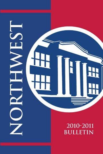 2010-2011 Bulletin - Northwest Mississippi Community College