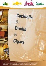 Cocktails Drinks Cigars - Trend Hotel