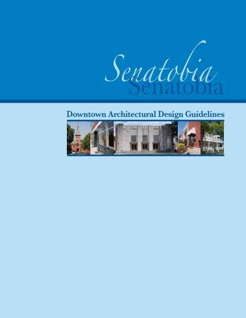Design Guidelines - Senatobia, Mississippi
