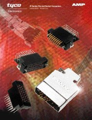 M Series Pin and Socket Connectors