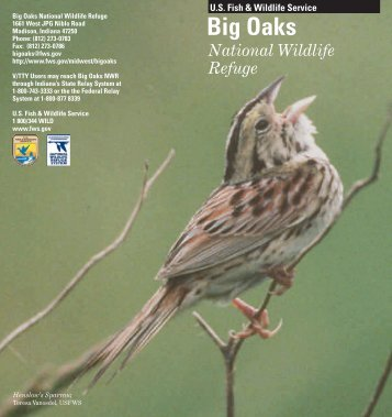 Big Oaks - Conservation Library - U.S. Fish and Wildlife Service