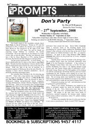 Issue 4 - Heidelberg Theatre Company
