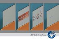 ISO-Sektionaltore - swissdoor Sicherheit