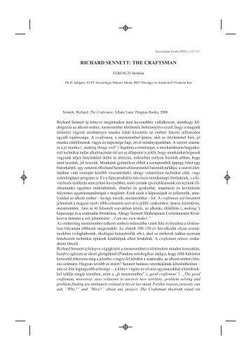 pdf 69 kb - Magyar Szociológiai Társaság