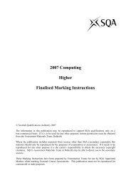 2007 - Scottish Qualifications Authority