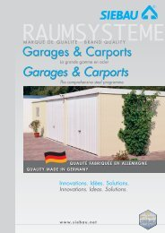 Garages & Carports - UNINORM Technic AG