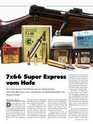 7x66 Super Express vom Hofe - Jagen Weltweit