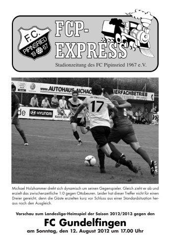 Stadionzeitung - FC Pipinsried