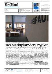 Der Marktplatz der Projekte - AHB - Berner Fachhochschule