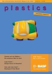 plastics - Das Kunststoff-Magazin der BASF 1/2006