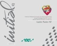 Lustre Pastes NF - GC Europe