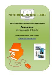 Die Kongruenzsätze für Dreiecke - School-Scout