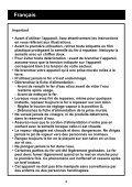 HI204/205/206/215/216/218/225/226/228 - Philips - Page 4